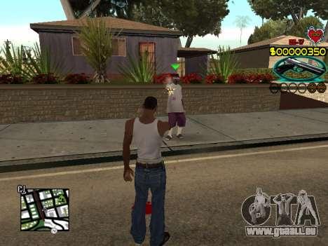C-HUD Guns pour GTA San Andreas troisième écran