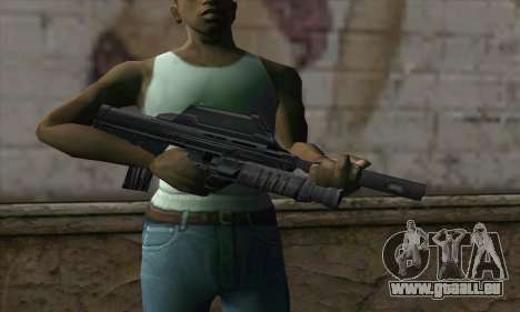 SC-20K Assault Rifle für GTA San Andreas dritten Screenshot