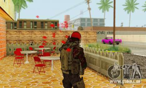 Blood On Screen für GTA San Andreas dritten Screenshot