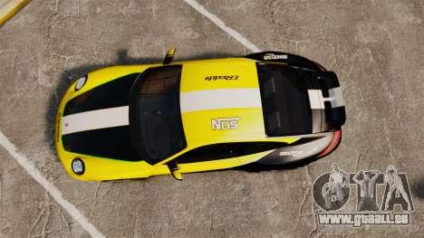 Porsche 911 Sport Classic 2010 RACE für GTA 4 rechte Ansicht