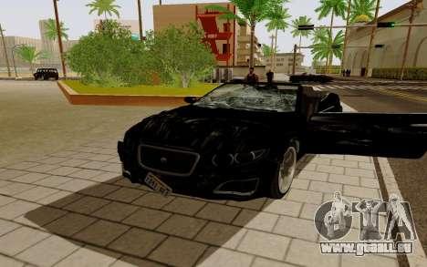 GTA 5 Lampadati Felon GT V1.0 für GTA San Andreas linke Ansicht