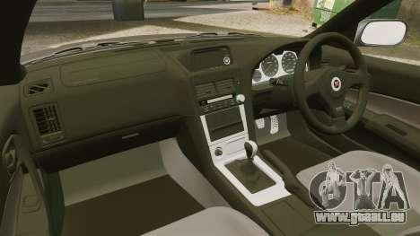 Nissan Skyline GT-R NISMO S-tune Amuse Carbon R pour GTA 4 est une vue de l'intérieur
