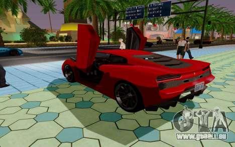GTA 5 Pegassi Vacca pour GTA San Andreas vue de dessus