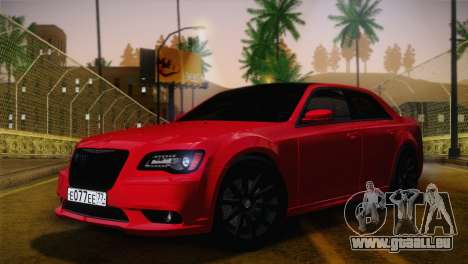 Chrysler 300 SRT8 Black Vapor Edition pour GTA San Andreas vue intérieure