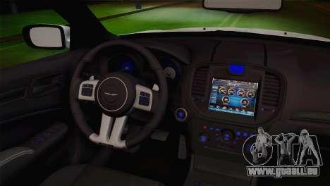 Chrysler 300 SRT8 Black Vapor Edition pour GTA San Andreas vue de droite