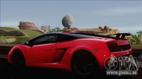 Lamborghini Gallardo LP570-4 Edizione Tecnica pour GTA San Andreas laissé vue