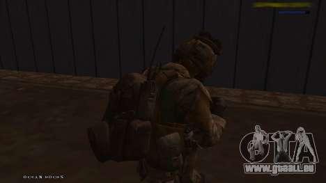 Ranger из Call Of Duty: Ghosts pour GTA San Andreas cinquième écran