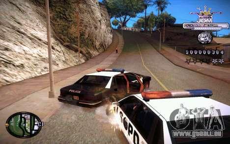 C-HUD JDM pour GTA San Andreas quatrième écran