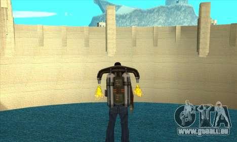 Nouveau barrage Sherman pour GTA San Andreas deuxième écran