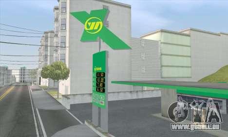 Remplissage dans le style de WOG pour GTA San Andreas sixième écran