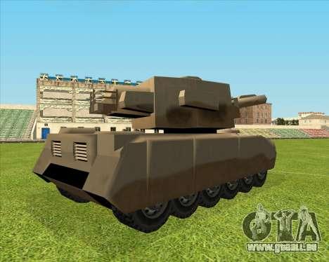 Rhino tp. Destructeur V.2 pour GTA San Andreas vue de droite