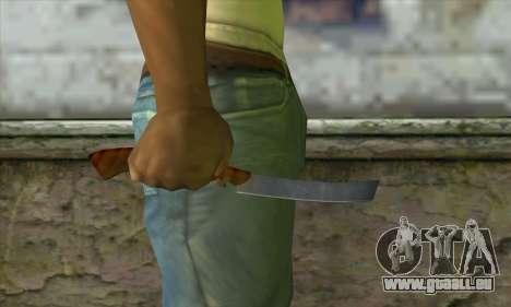 Rasoir pour se raser pour GTA San Andreas troisième écran