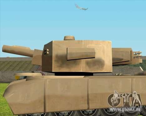 Rhino tp. Destructeur V.2 pour GTA San Andreas sur la vue arrière gauche