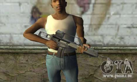 HK G36 für GTA San Andreas dritten Screenshot