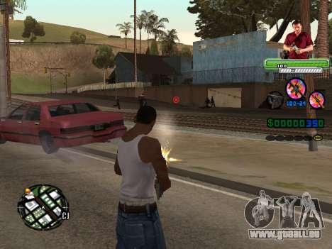 C-HUD Michael (GTA V) für GTA San Andreas zweiten Screenshot