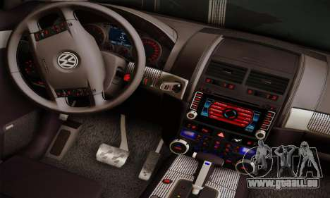 Volkswagen Touareg 2010 für GTA San Andreas Rückansicht
