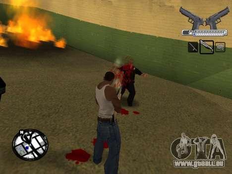 С-HUD par MoLoT pour GTA San Andreas cinquième écran