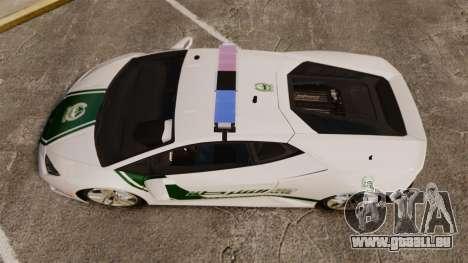 Lamborghini Huracan Cop [ELS] für GTA 4 rechte Ansicht