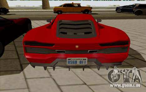 GTA 5 Pegassi Vacca pour GTA San Andreas vue de droite