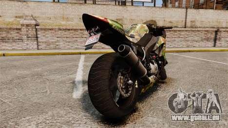 Kawasaki Ninja ZX-6R v2.0 für GTA 4 rechte Ansicht
