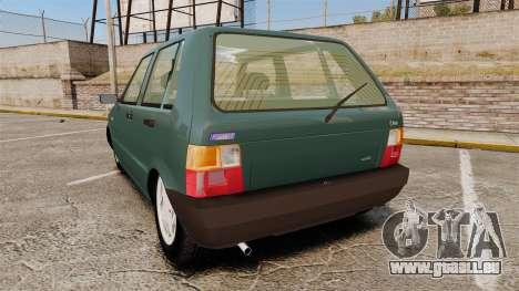 Fiat Uno für GTA 4 hinten links Ansicht
