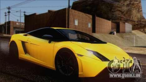 Lamborghini Gallardo LP570-4 Edizione Tecnica pour GTA San Andreas vue intérieure