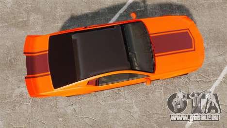 GTA V Vapid Dominator wheels v2 pour GTA 4 est un droit