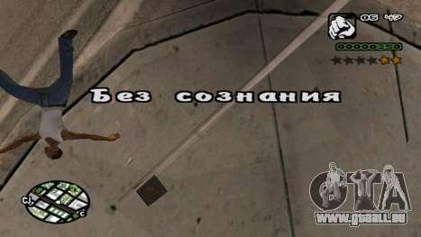 Neue schriftart V.2 für GTA San Andreas siebten Screenshot