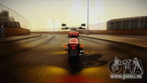 Yamaha Star Stryker 2012 pour GTA San Andreas vue intérieure