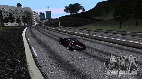 New Roads v3.0 Final pour GTA San Andreas quatrième écran