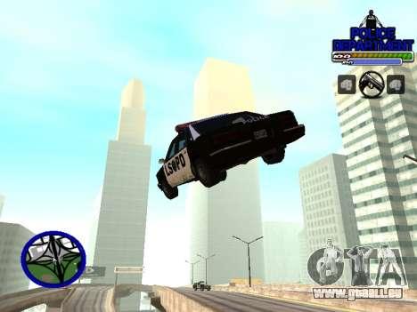 С-Hud Département De La Police De pour GTA San Andreas troisième écran
