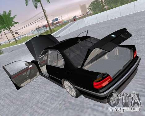 BMW 7-series E38 pour GTA San Andreas vue de côté