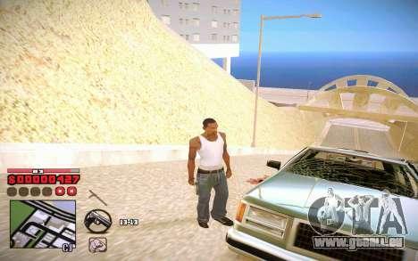 C-HUD by ComPot pour GTA San Andreas troisième écran