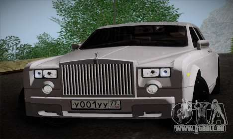 Rolls-Royce Phantom für GTA San Andreas linke Ansicht