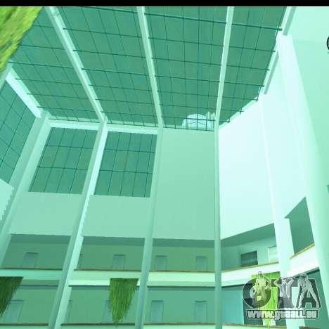 Nouvel intérieur de la radio-centre pour GTA San Andreas troisième écran