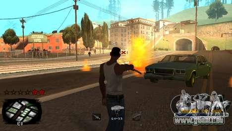 C-HUD Kings of Rap pour GTA San Andreas sixième écran
