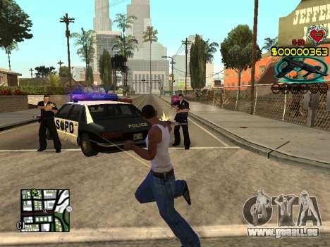 C-HUD Guns pour GTA San Andreas