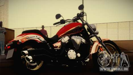 Yamaha Star Stryker 2012 pour GTA San Andreas laissé vue
