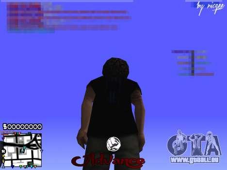 C-HUD Advance pour GTA San Andreas troisième écran