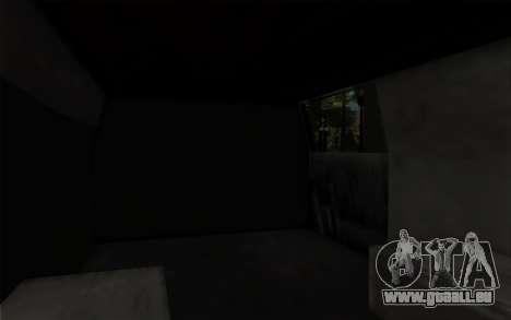 S.W.A.T van für GTA San Andreas rechten Ansicht