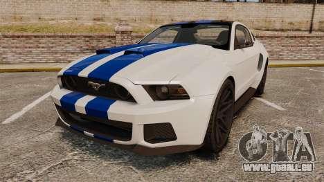 Ford Mustang GT 2013 NFS Edition für GTA 4