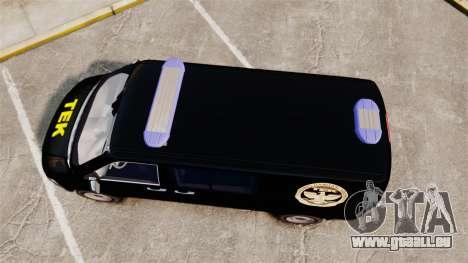 Volkswagen Transporter T5 Hungarian TEK [ELS] für GTA 4 rechte Ansicht