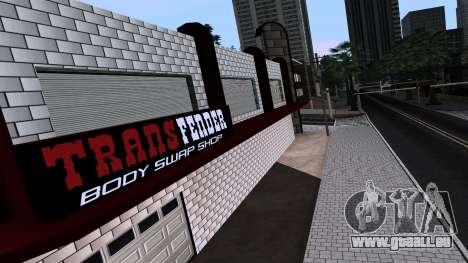 New TransFender pour GTA San Andreas troisième écran