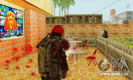 Blood On Screen für GTA San Andreas zweiten Screenshot