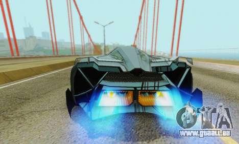 Lamborghini Egoista für GTA San Andreas Motor