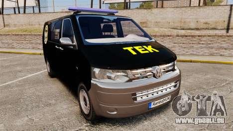 Volkswagen Transporter T5 Hungarian TEK [ELS] für GTA 4