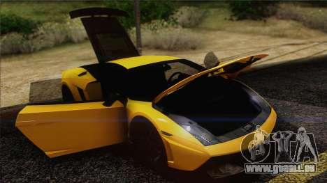 Lamborghini Gallardo LP570-4 Edizione Tecnica für GTA San Andreas Innen
