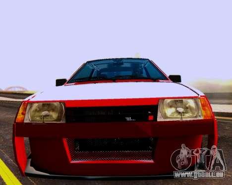 VAZ 2108 Tuneable für GTA San Andreas Motor