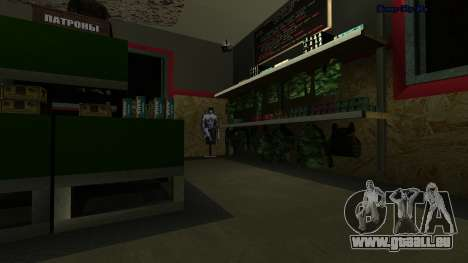 HD vacciner pour GTA San Andreas troisième écran