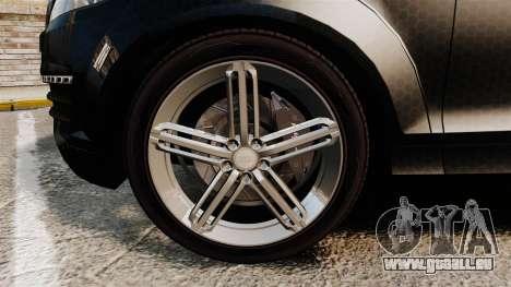 Audi Q7 TEK [ELS] für GTA 4 Rückansicht